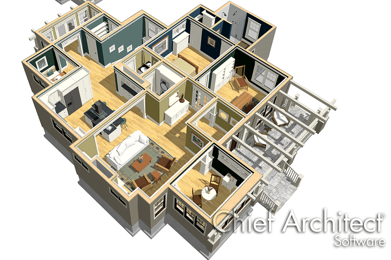 Using home design software a review for Easy architectural software