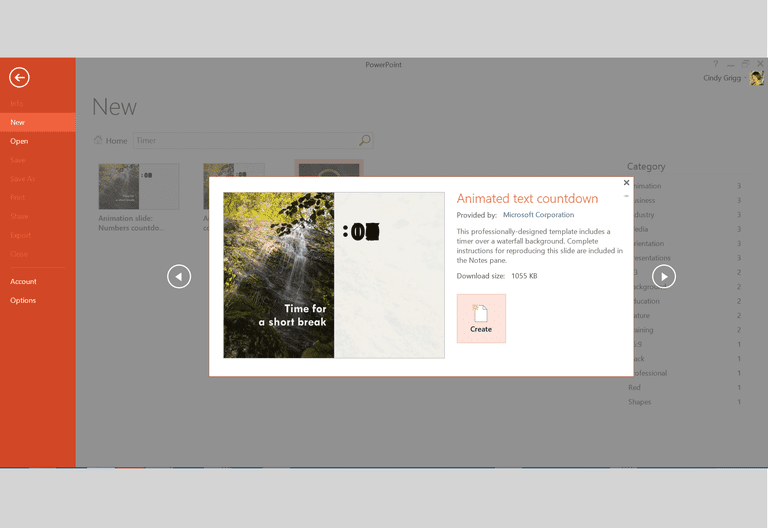 microsoft's best presentation templates for powerpoint, Modern powerpoint