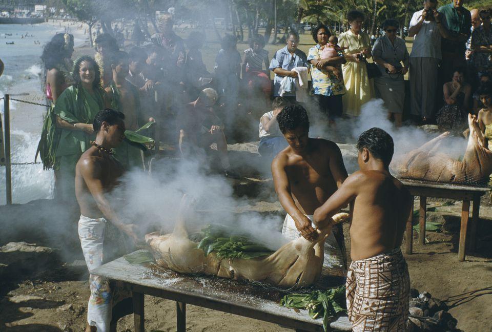 Kalua Pig or Kalua Pua'a