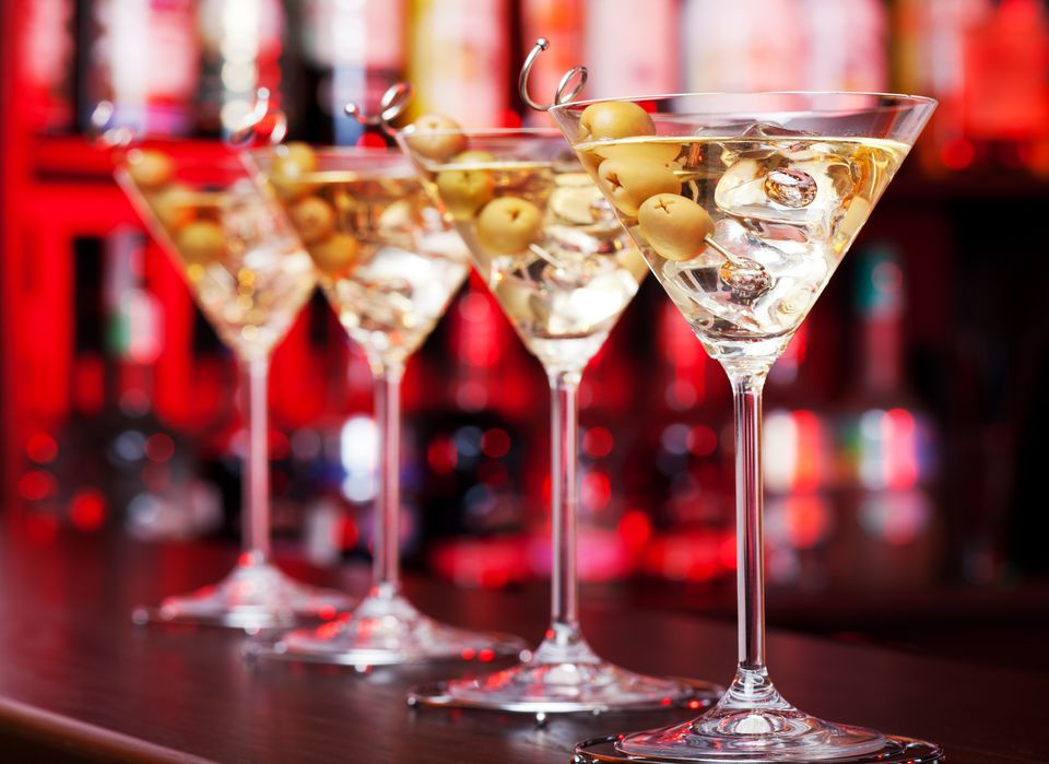 The Classic Gin Martini is an Icon of the Bar
