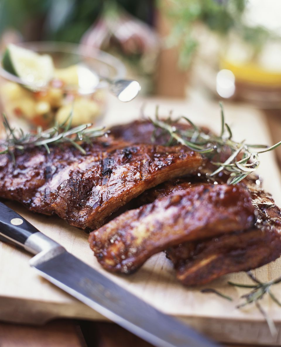 Southern-style spare ribs