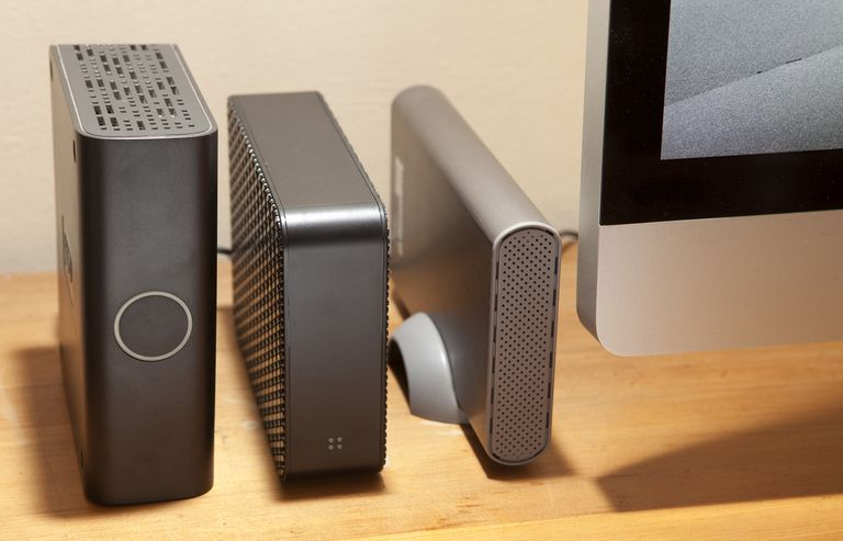 External drives with iMac