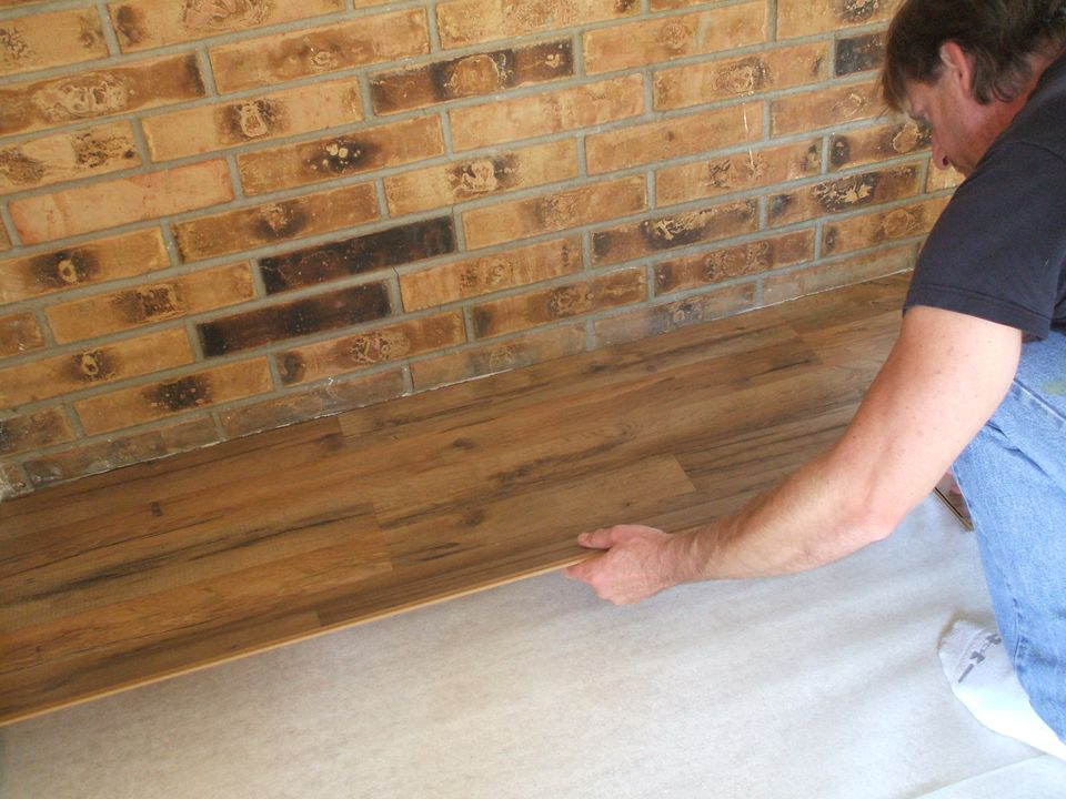 Lay Flooring Captivating How To Lay Laminate Flooring In One Day Decorating Inspiration