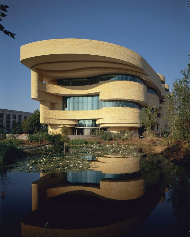 National Museum of the American Indian - East Entrance