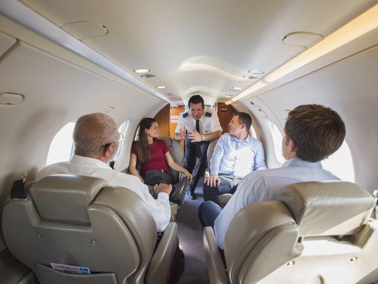 Pilot Briefing Passengers