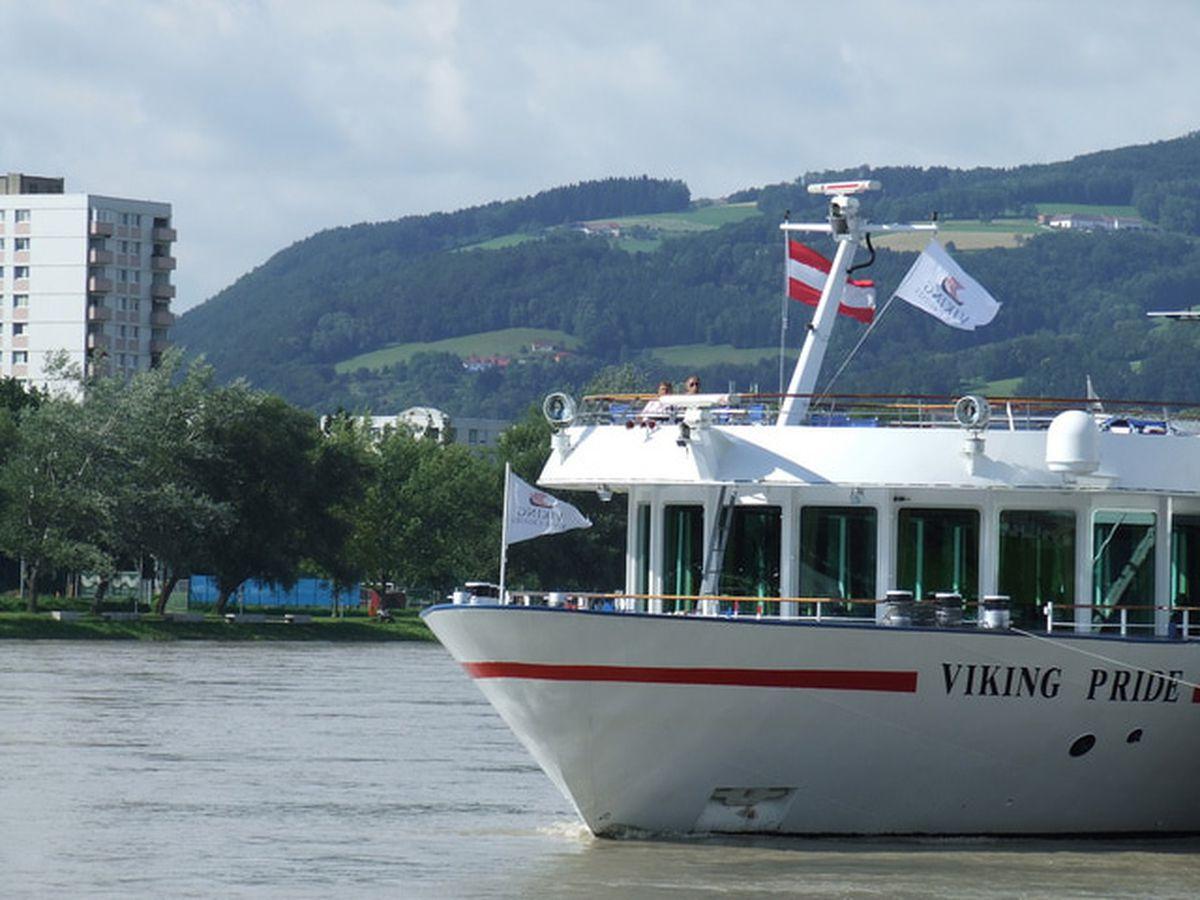 Linz Austria Danube River City