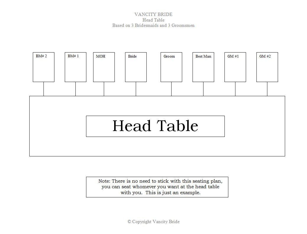 free wedding seating chart templates you can customize