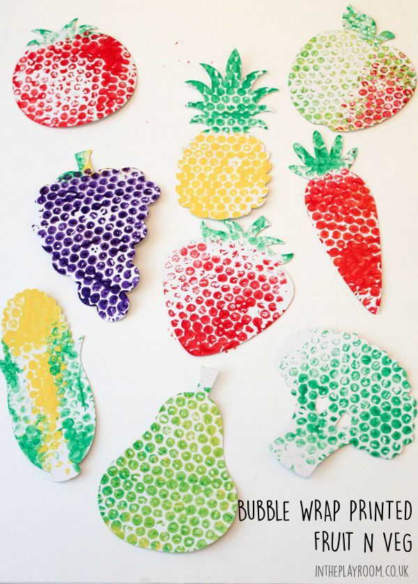 Bubble Wrap Printed Fruit