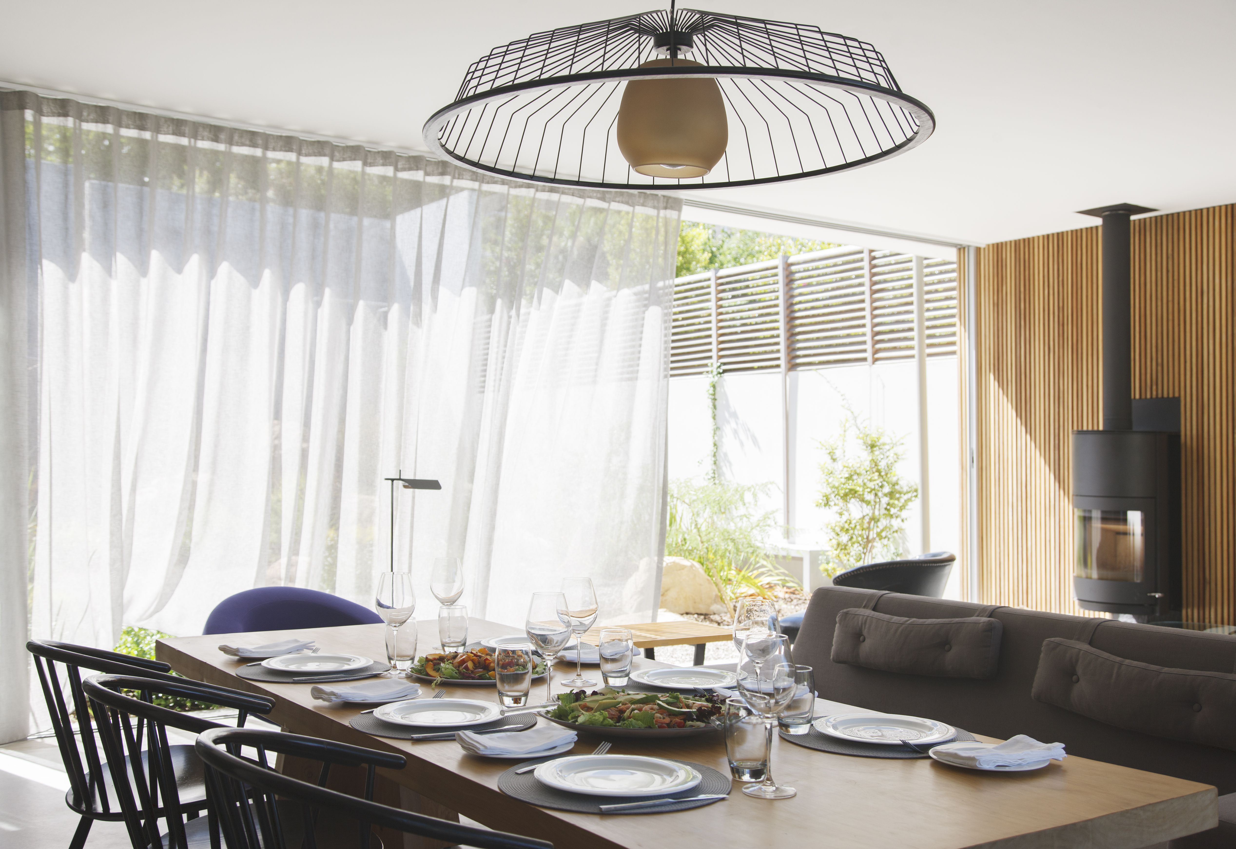 Add Softness To The Dining Room With Curtains Amp Drapes