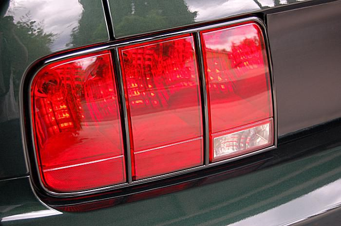 Install Stack Racing Mustang Taillight Trim