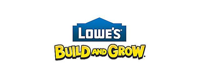 Picture of the Lowe's Build and Grow logo