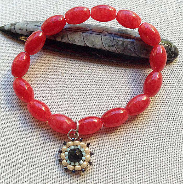 flowers glass seed bracelet watch bead fancy youtube tutorial beads for making