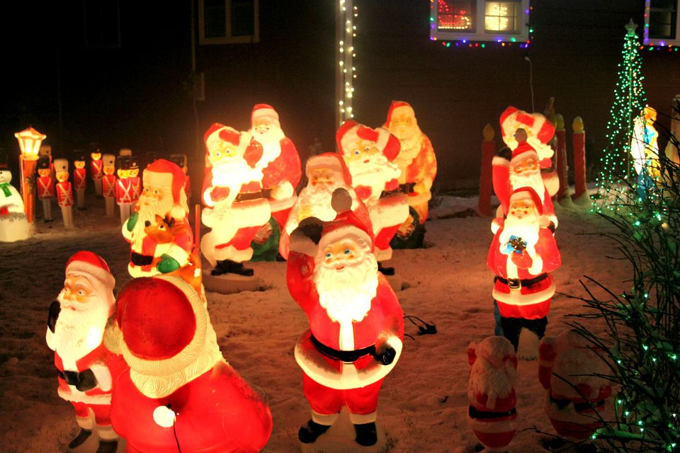 The best lighted blow mold christmas decorations blow mold outdoor holiday decorations vintage lawn decorations are still being made aloadofball Gallery