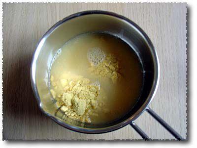 Dissolve Powdered Mustard in Wine