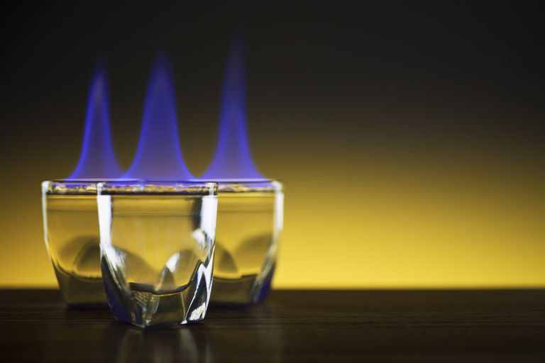 Flammable gel is the basis for a simple gel candle.
