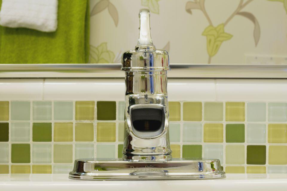 green square tiles on bathroom backsplash 150206609jpg