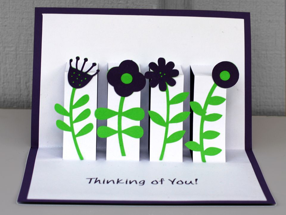 thinking of you pop up card