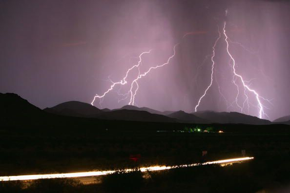 Getting shelter from lightning is an important part of thunderstorm safety.
