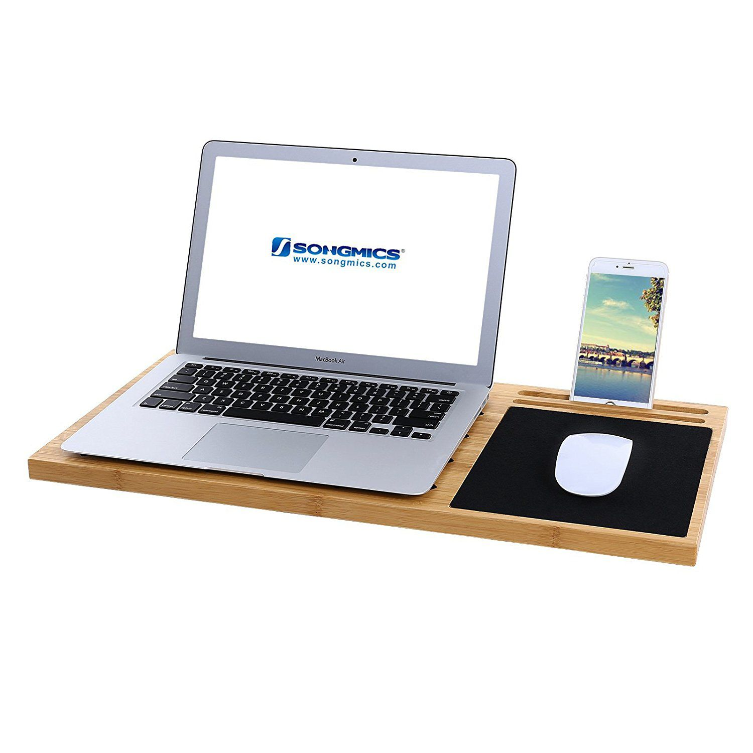 lap stand laptop top inventiveness desk bed tray computer table bang portable for up