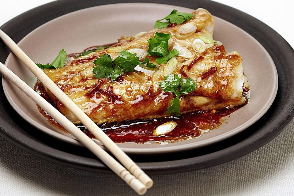 Chinese ginger soy steamed fish recipe ginger soy steamed fish recipe forumfinder Image collections