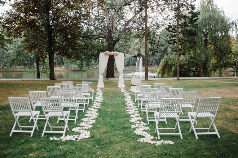 Wedding ceremony, arch. Wedding decor.