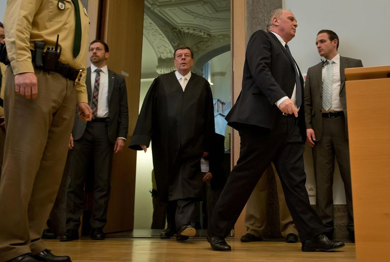 Ulrich Hoeness Appears In Court Accused Of...