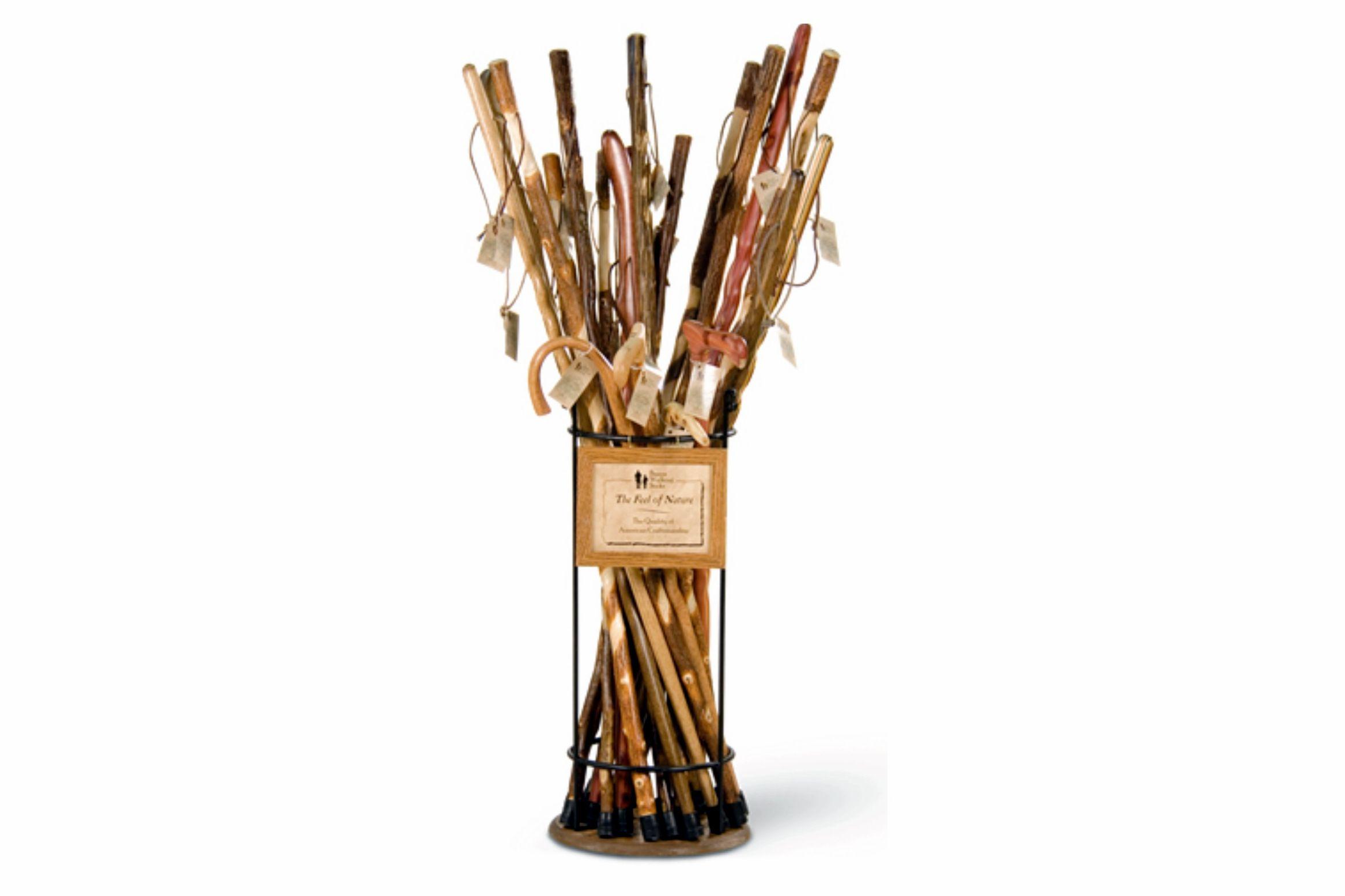 Metal vs Wood for Walking Sticks