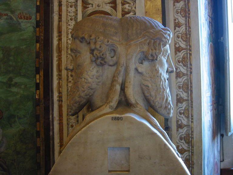 Bust of Janus, Vatican Museum