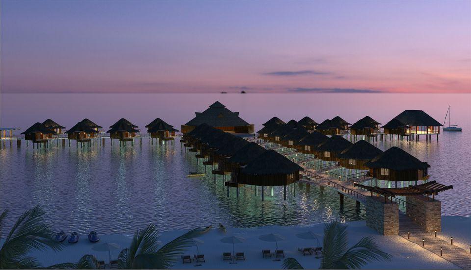 Karisma Resorts overwater bungalows