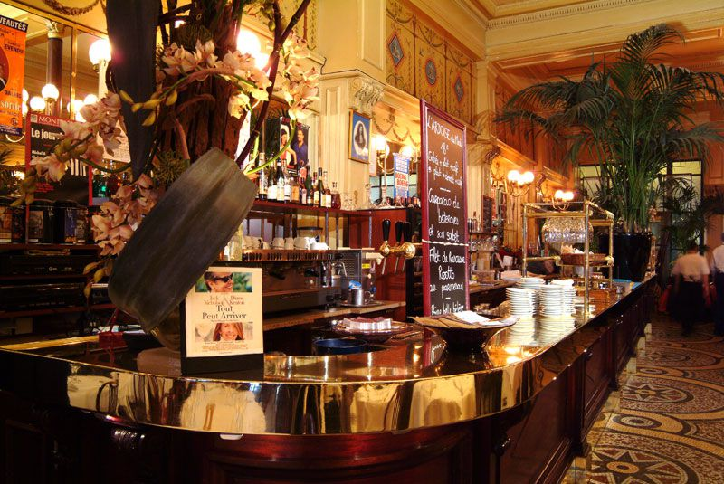 Le Grand Colbert restaurant is a classic Parisian brasserie circa 1900, but the premises are much older.