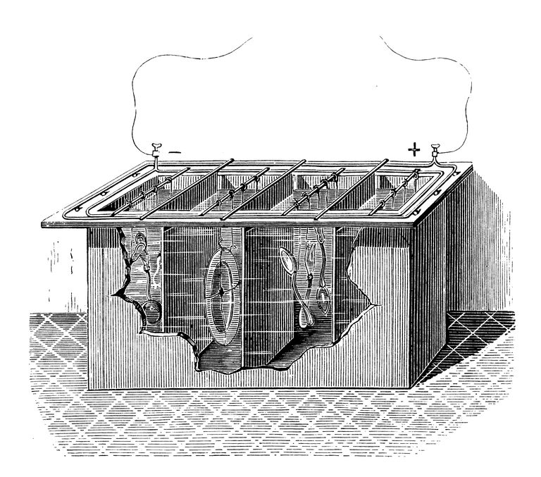 A galvanic cell is one type of battery.
