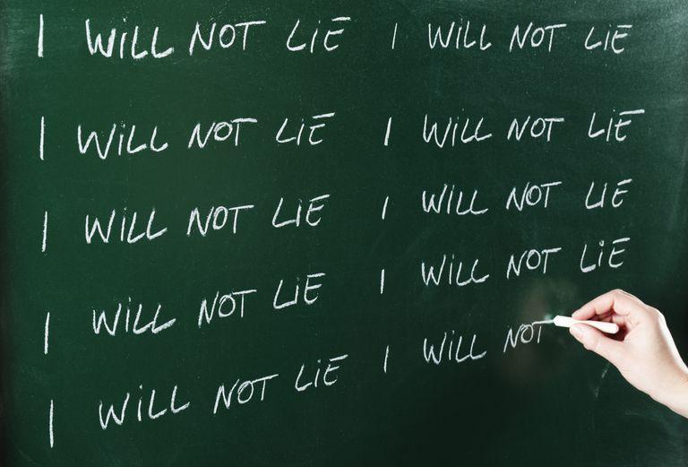 how to detect lies pdf