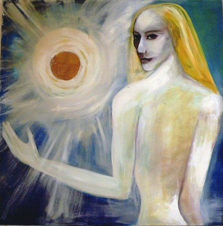 Painting by Vita Giorgi