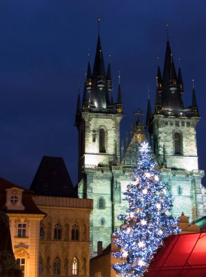 Christmas in Old Town Prague