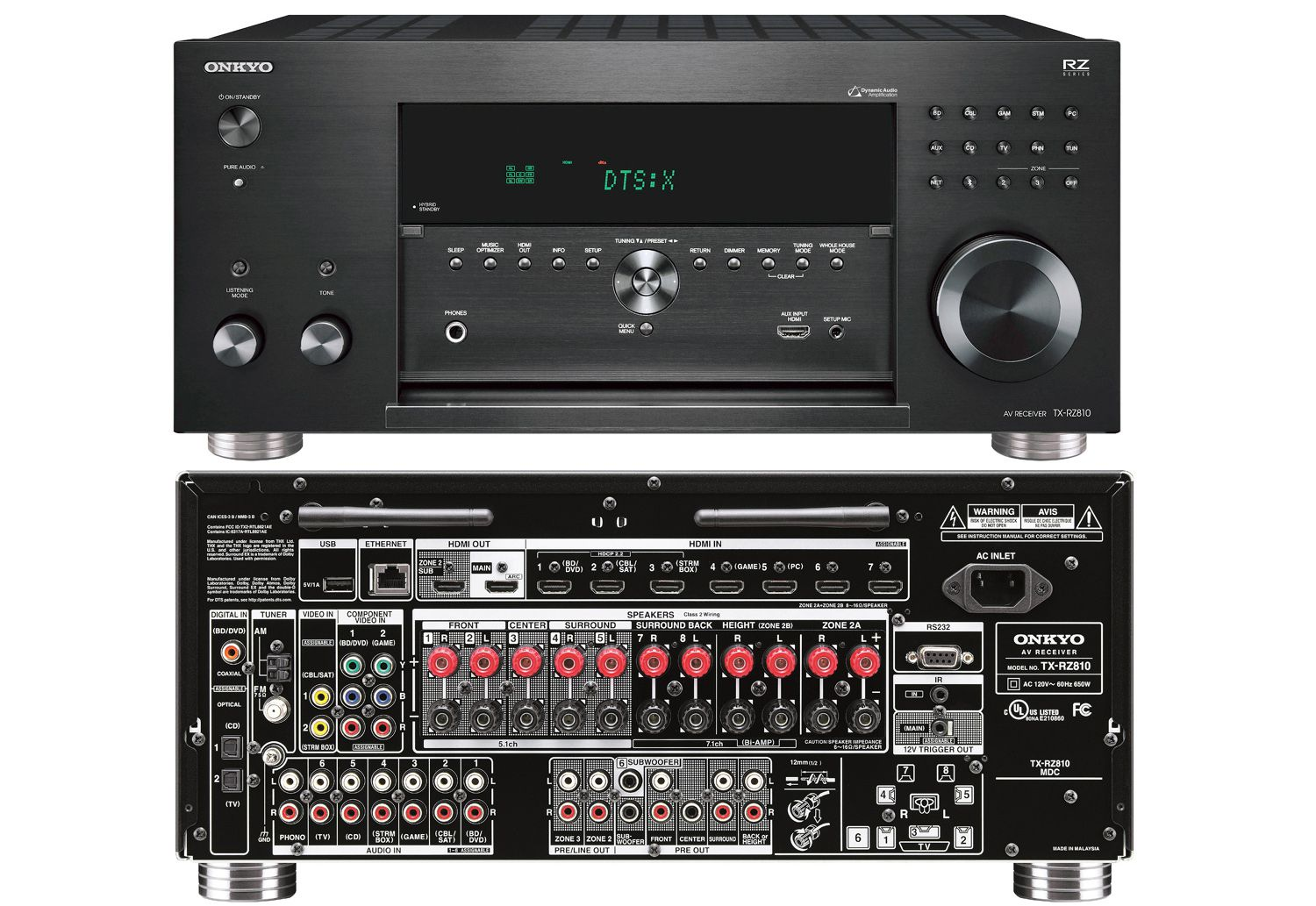 The Onkyo 2016 Rz Series Of Home Theater Receivers