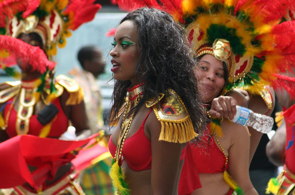 Carifiesta parade photos taken in Montreal (Carifete).