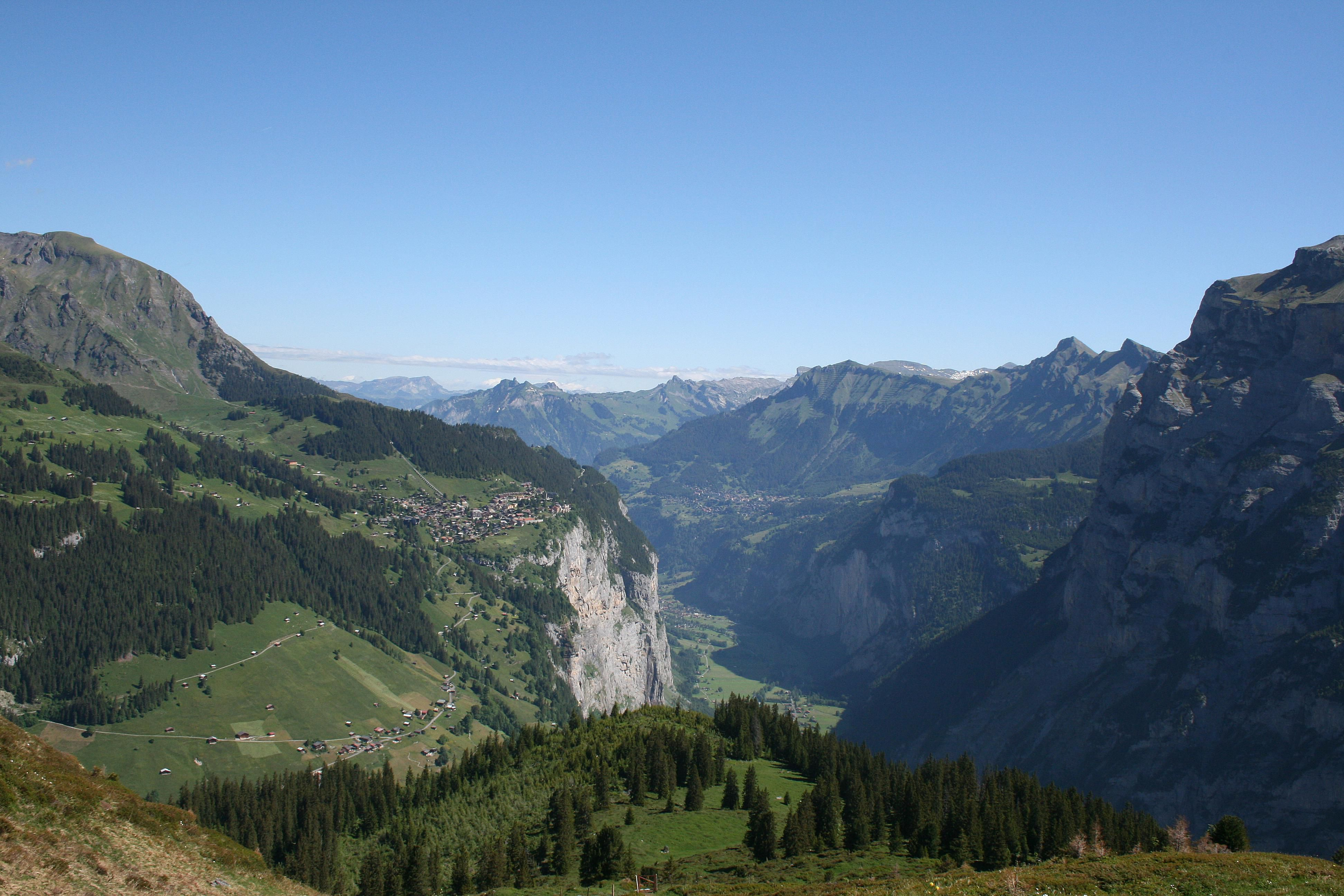 Switzerland travel guide hiking in the swiss alps off the jungfraus tourist trail sciox Image collections