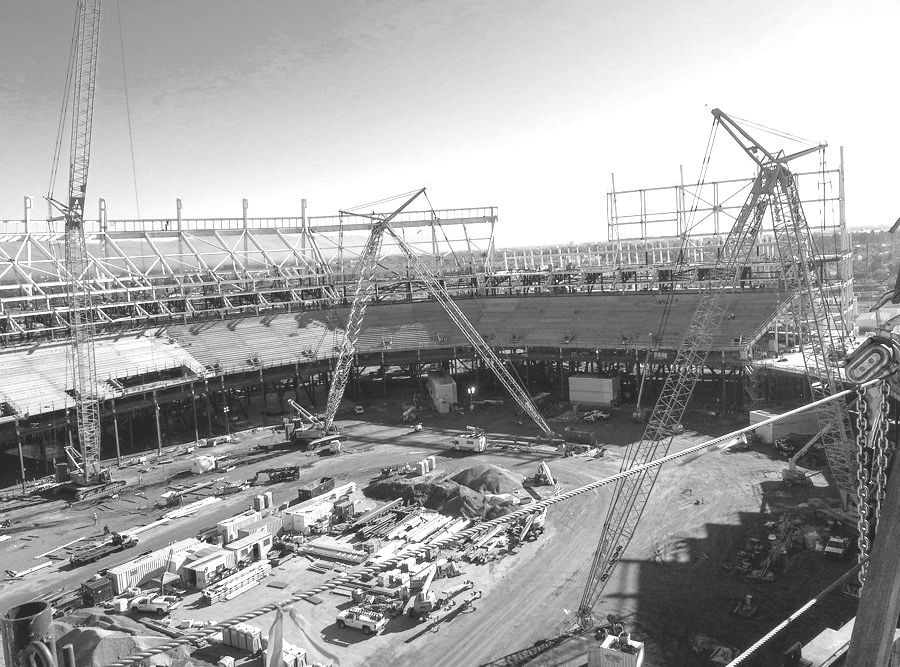 49ers Levi's Stadium Steel Work