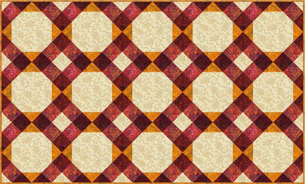 Nine Patch Baby Quilt Pattern