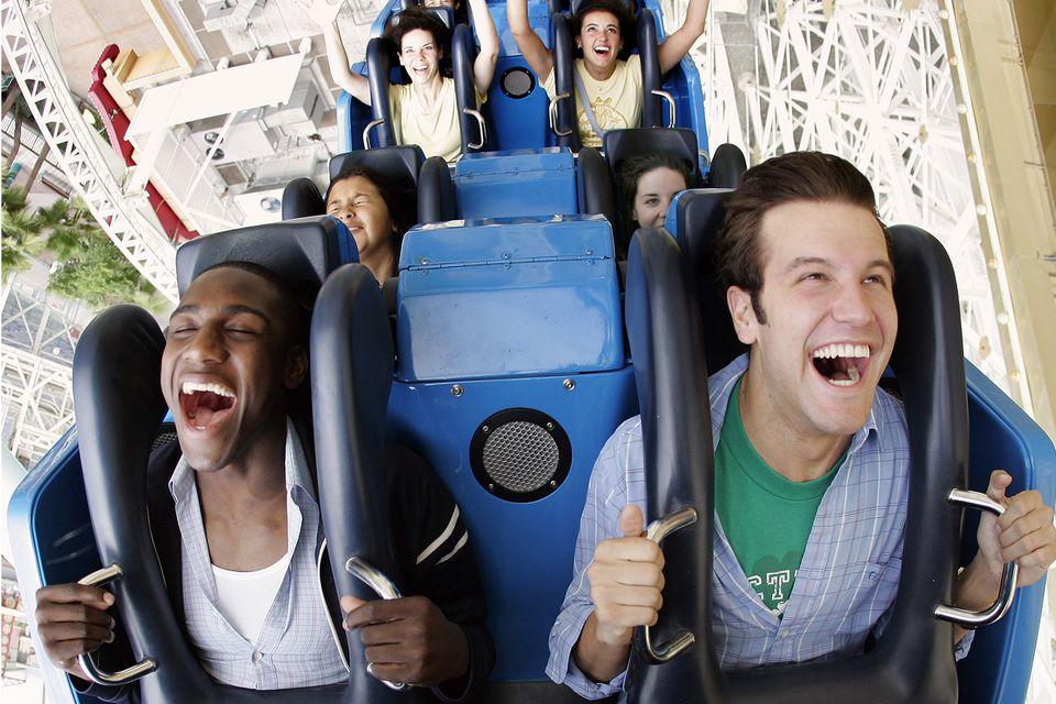 California Screamin Rollercoaster at Disney California Adventure