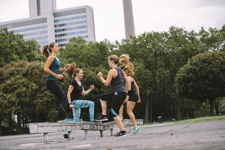 outdoor fitness november project