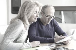 Couple looking at ways to increase their Social Security benefits.