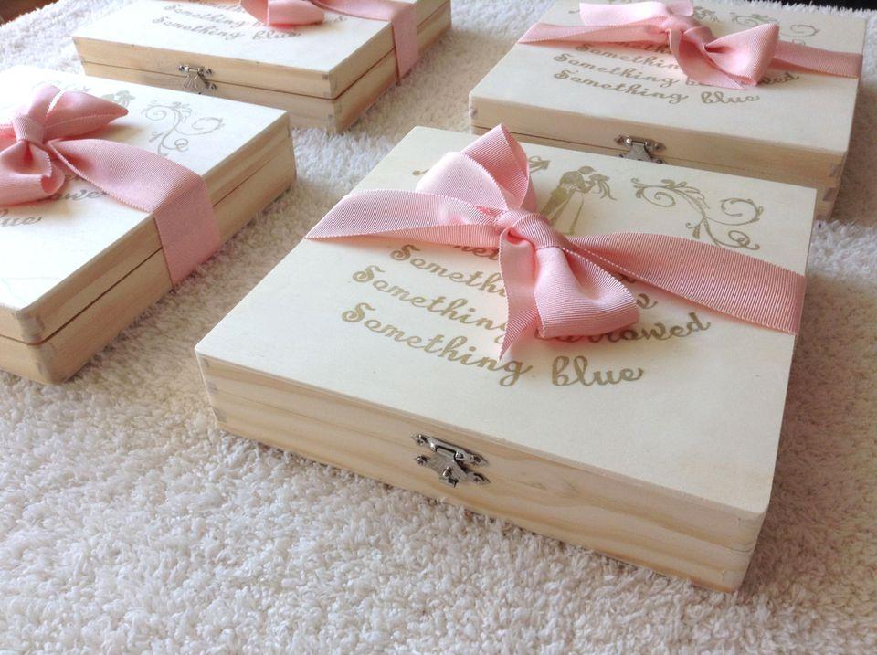 Bridesmaids Cigar Box