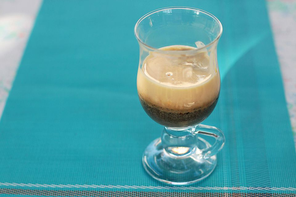 Vietnamese egg coffee