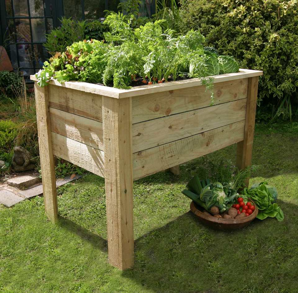 Building Portable Raised Garden Beds