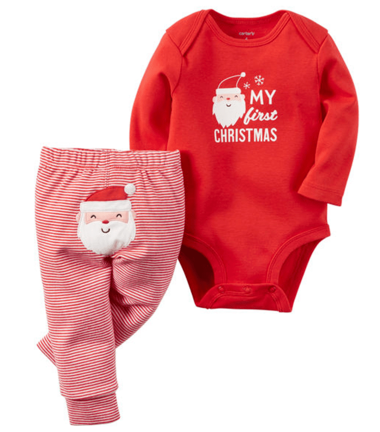 20 Adorable Baby's First Christmas Outfits