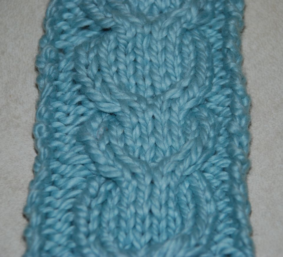 How to knit a double cable or horseshoe cable double cable pattern bankloansurffo Image collections