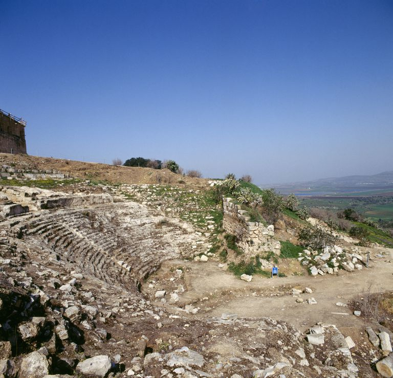 Roman theatre, ancient city of Sepphoris (Autocratis), Israel