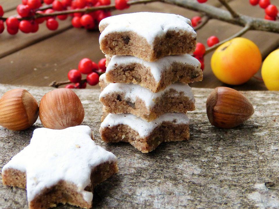 Zimtsterne recipe german christmas cookies forumfinder Image collections