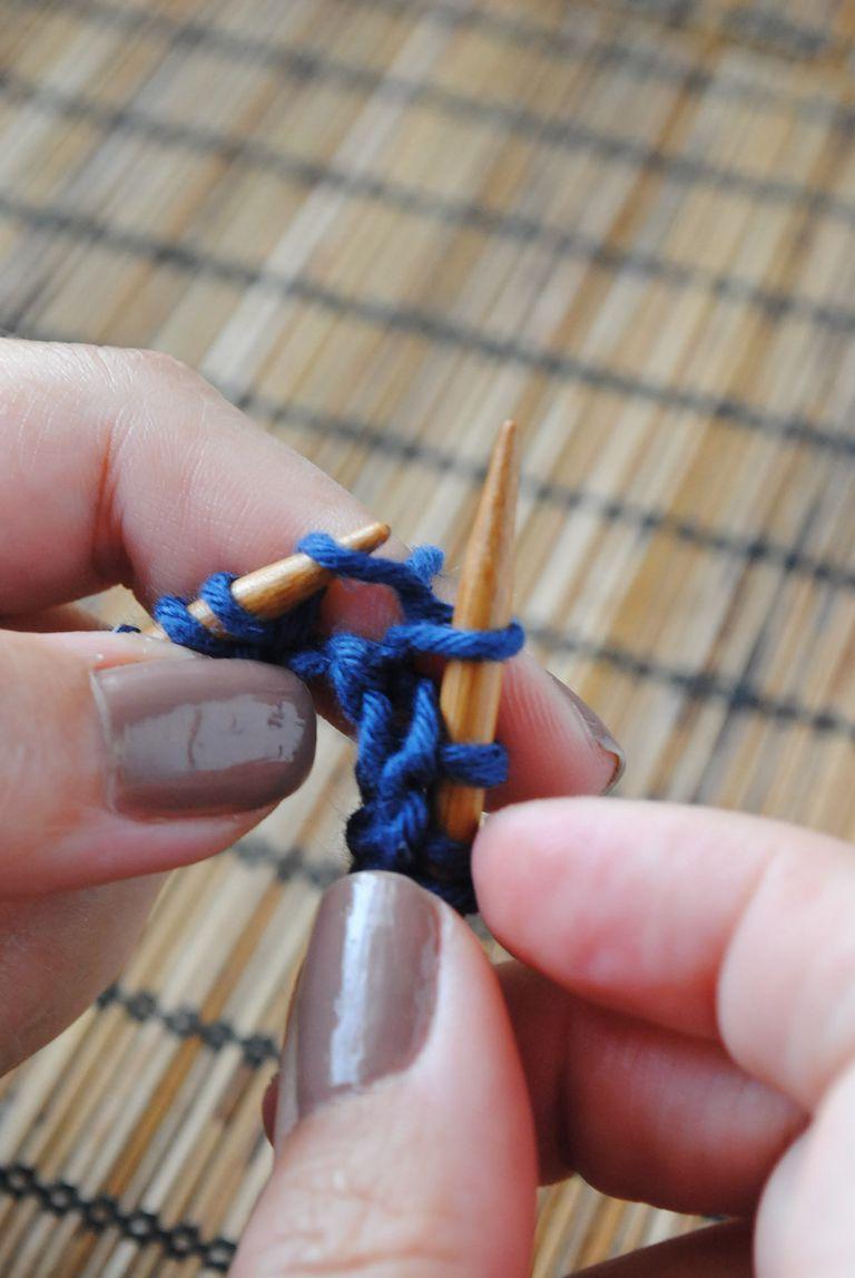 Aprende a tejer, punto noruego
